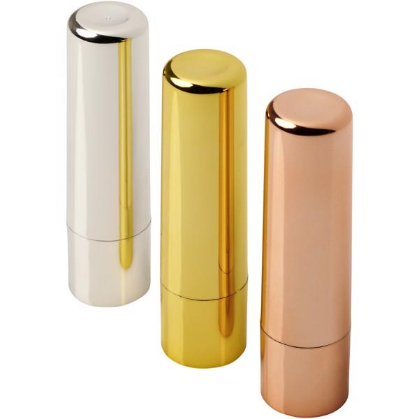 Deale metallischer Lippenbalsam - Silber