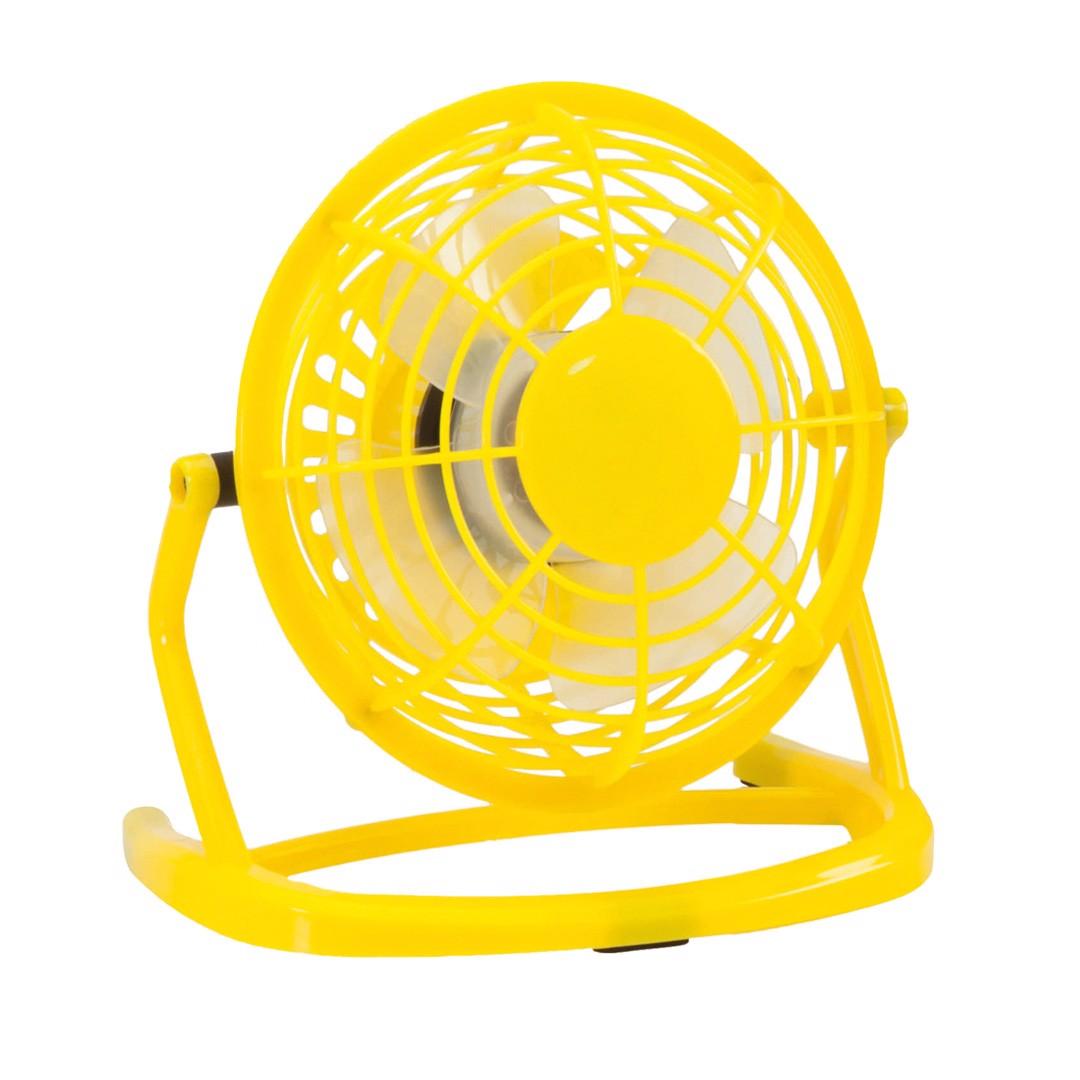 Mini Ventilador Miclox - Amarelo