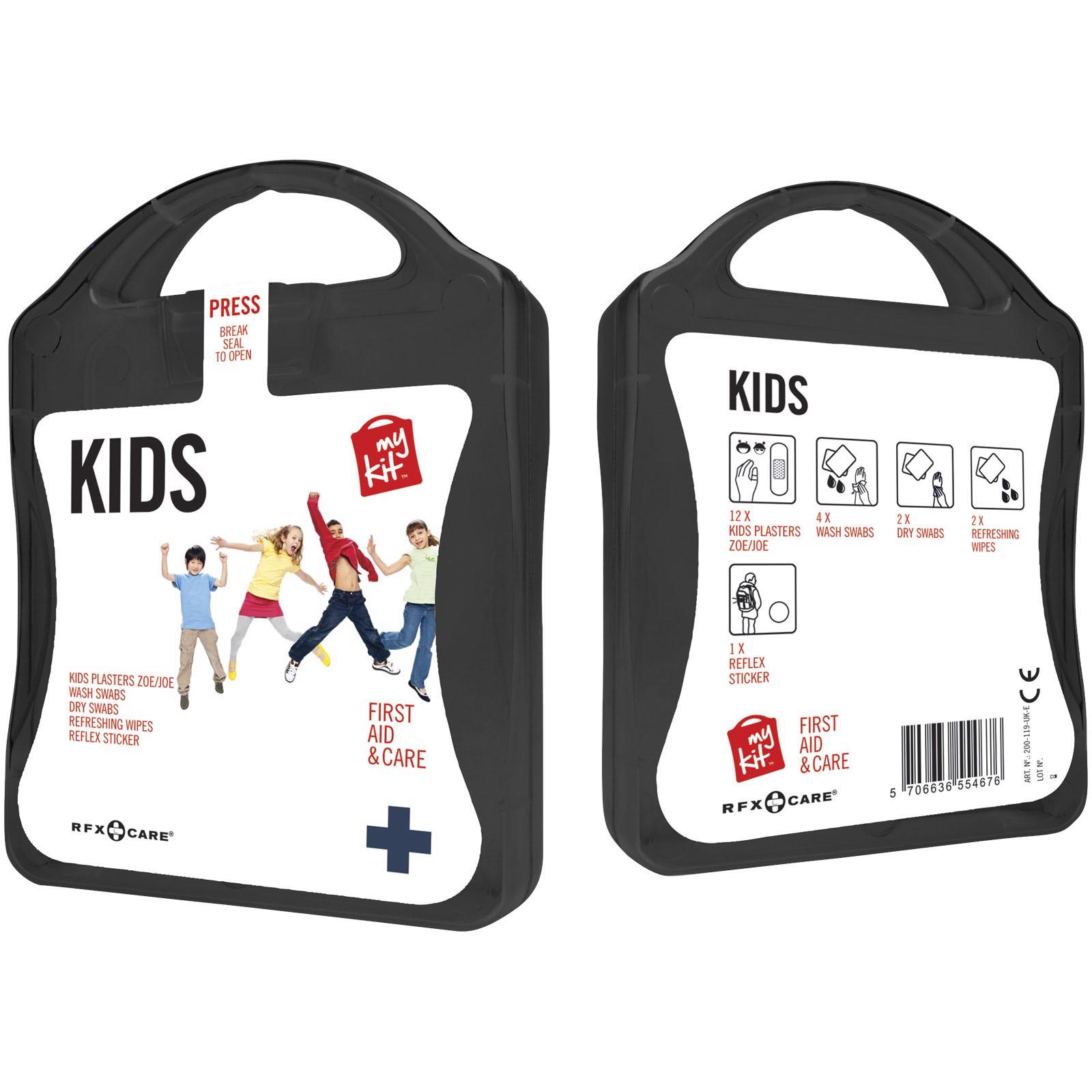 MyKit Kids First Aid Kit - Solid Black