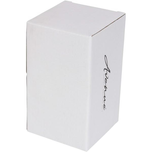 "Vaso de cerámica de doble pared de 410ml ""Mysa"" - Verde nenta"