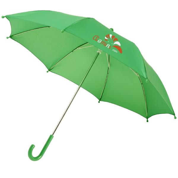 """Větruodolný deštník pro děti Nina 17"""" - Světle zelená"""
