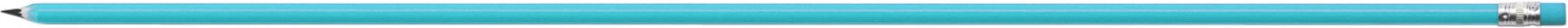 Pencil with eraser - Light Blue