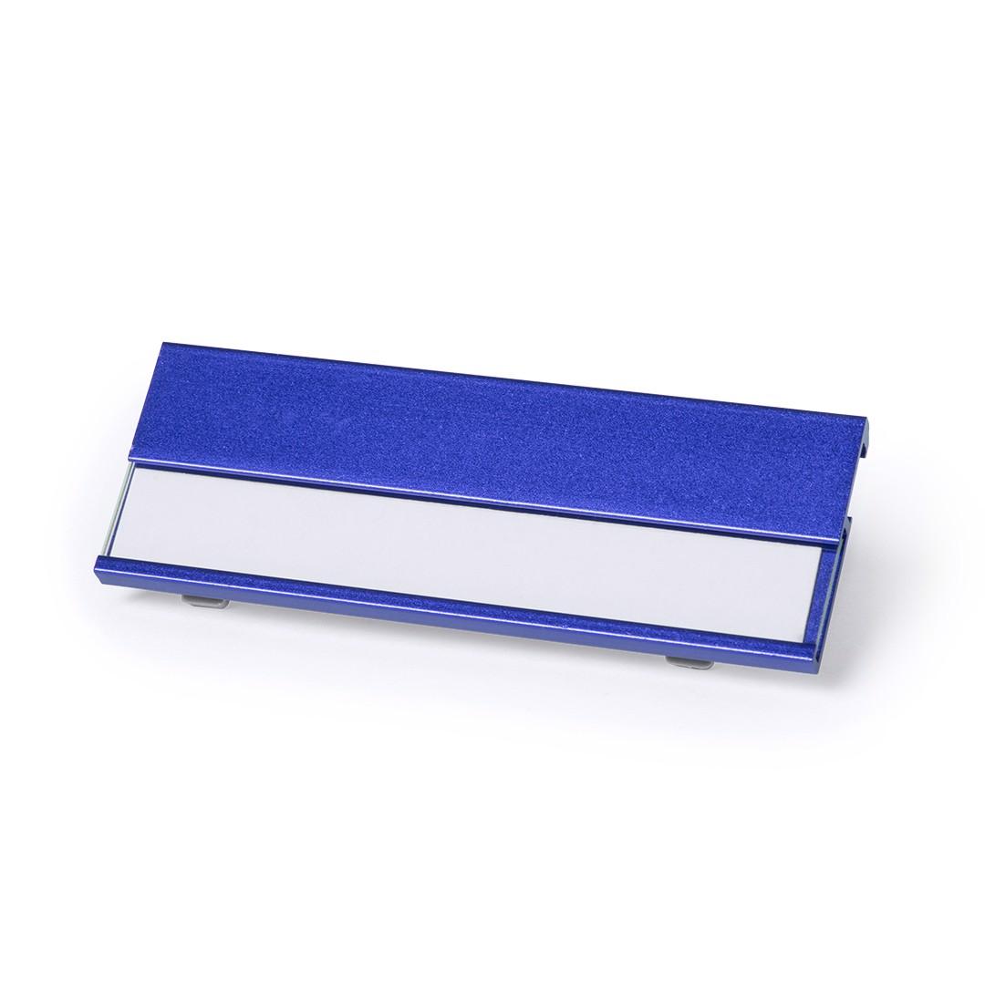 Identificador Bindel - Azul