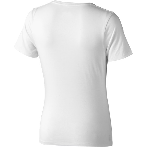 Nanaimo short sleeve women's T-shirt - White / XS