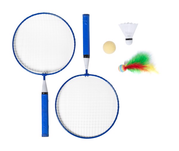 Badmintonset Dylam - Blau