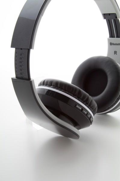 Bluetooth Sluchátka Darsy - Černá / Bílá
