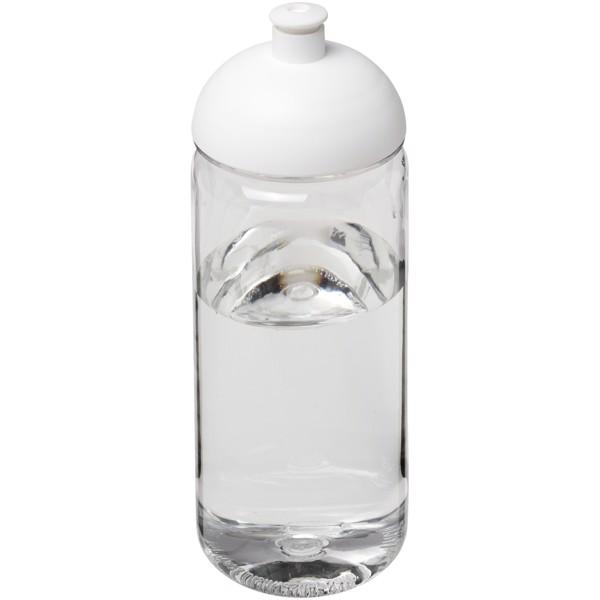 Sportovní láhev s kupolovitým víčkem Octave Tritan™ 600 ml - Průhledná / Bílá