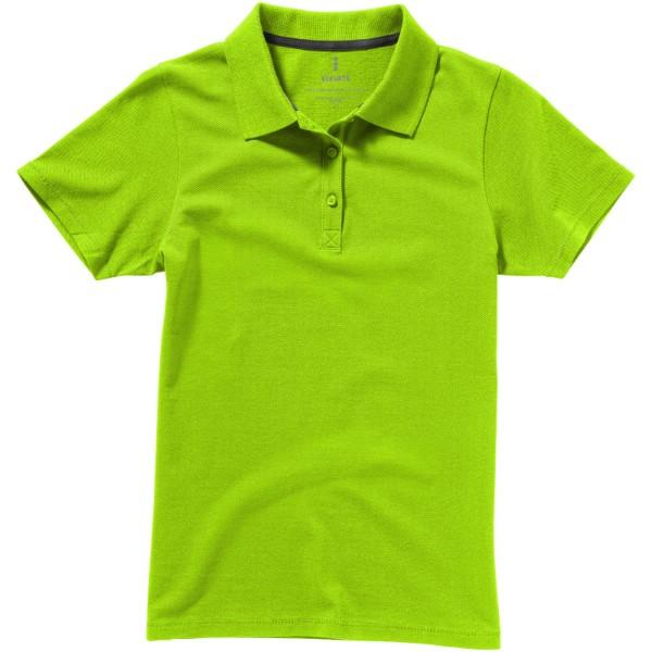 Seller short sleeve women's polo - Apple green / XL