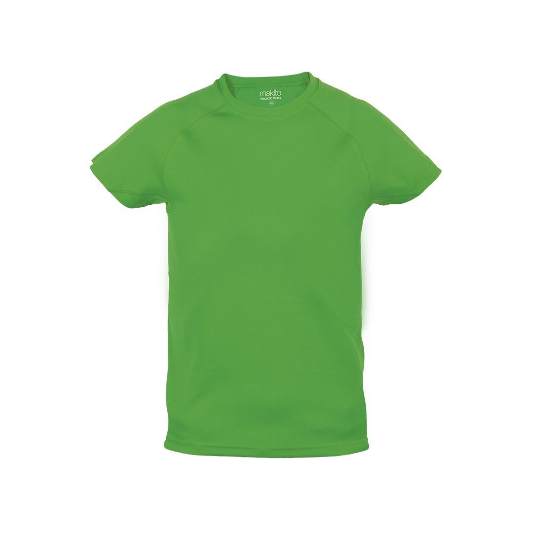 T-Shirt Criança Tecnic Plus - Verde / 10-12