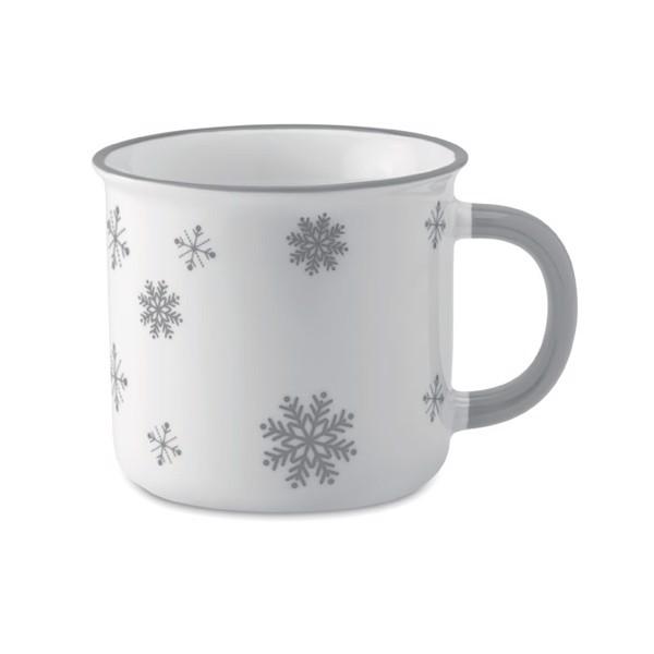 Vintage Kaffeebecher Sondrio Mug - grau