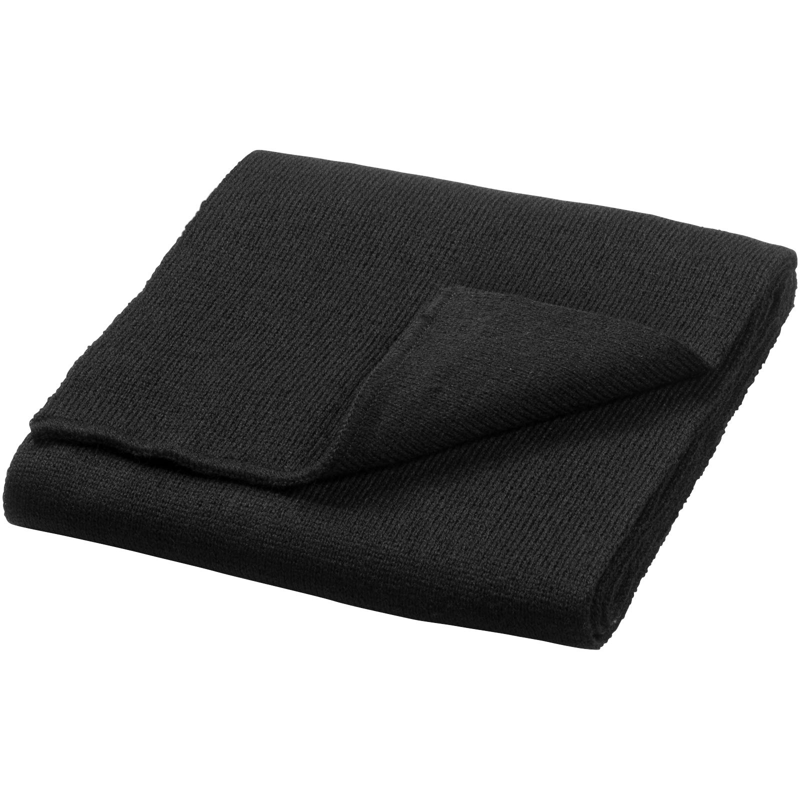 Columbus scarf - Solid black