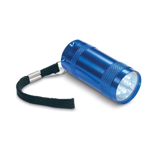 Hliníková mini svítilna Texas - blue