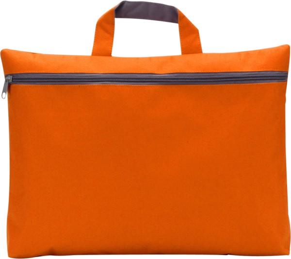 Polyester (600D) conference bag - Orange