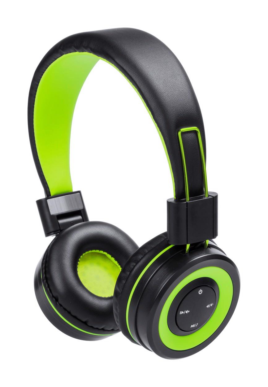 Bluetooth Sluchátka Tresor - Zelená