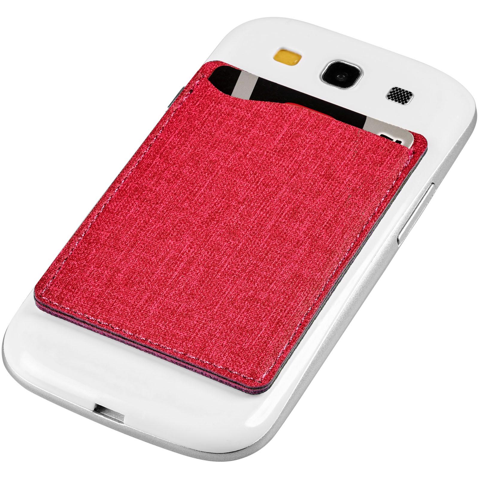"Cartera para móvil RFID ""Premium"" - Rojo"