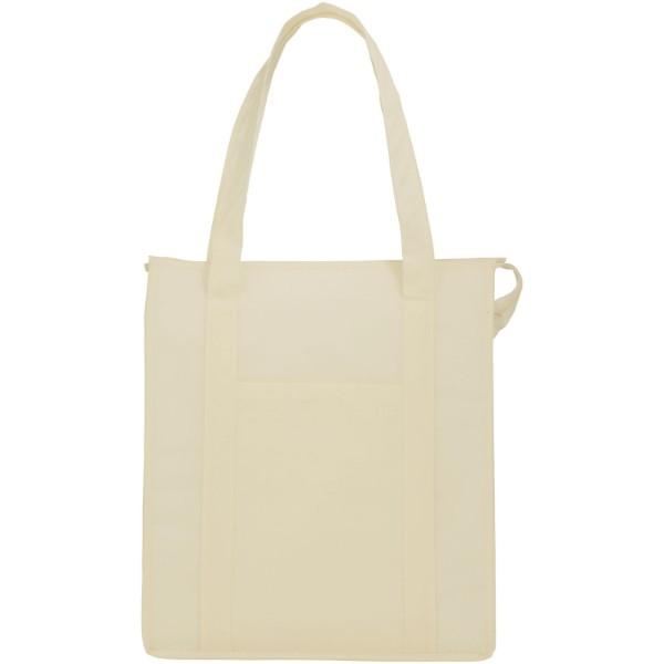 Zeus insulated cooler tote bag - Cream