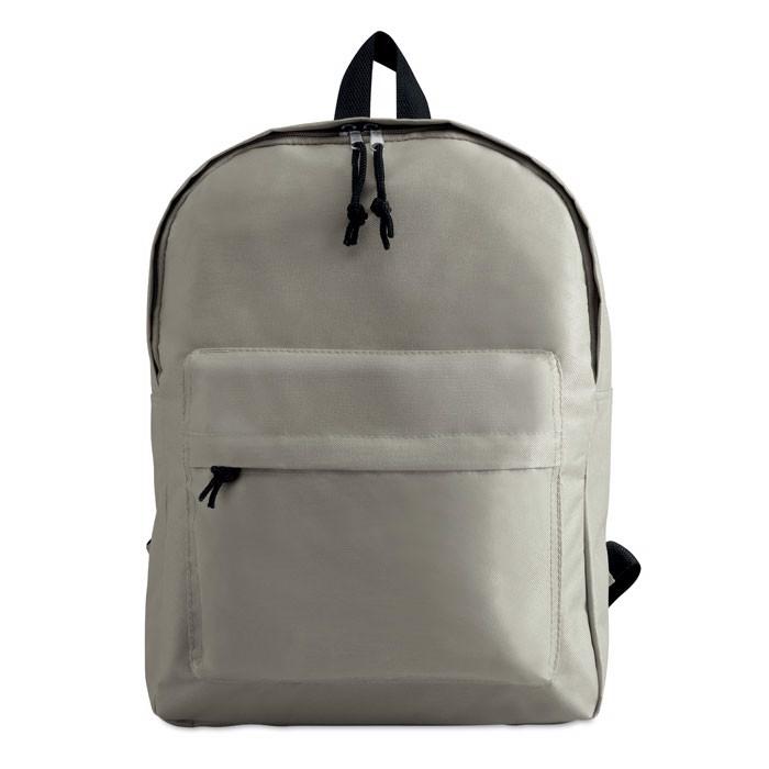 600D polyester backpack Bapal - Grey