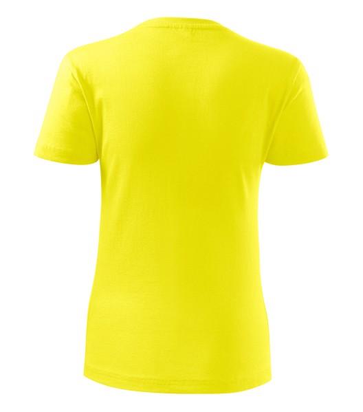 Tričko dámské Malfini Classic New - Citronová / L