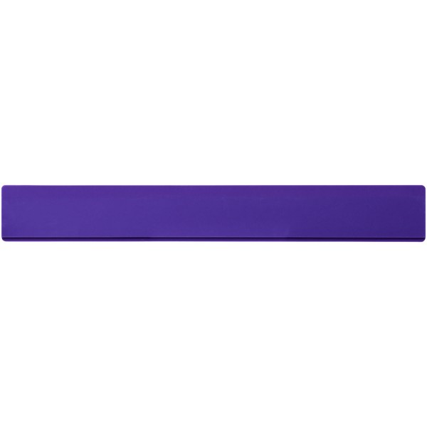 Renzo 30 cm plastic ruler - Purple