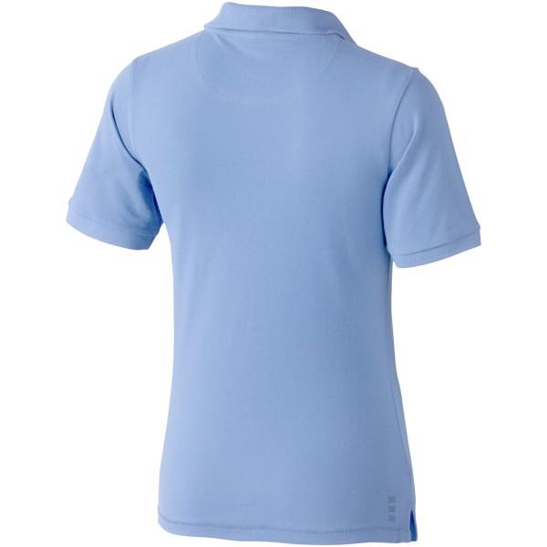 Calgary short sleeve women's polo - Light Blue / XXL
