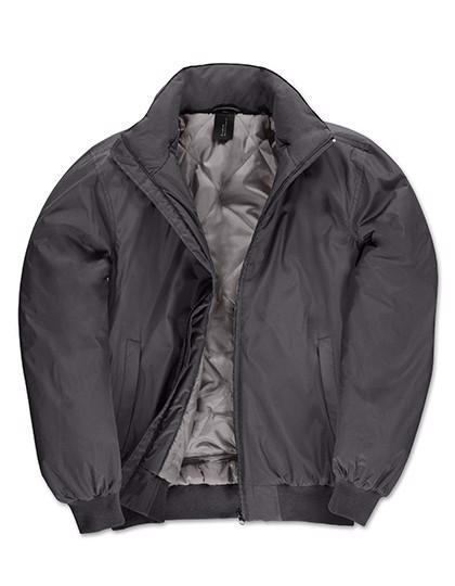 Jacket Crew Bomber /Men - Dark Grey / Warm Grey / 3XL