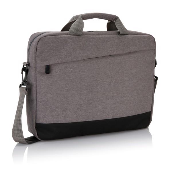 """Trend 15""""-os laptop táska - Szürke / Fekete"""