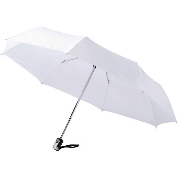 """Automatyczny parasol składany 21,5"""" Alex - Biały"""