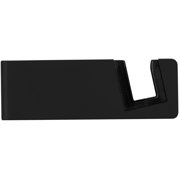 Slim device stand for tablets and smartphones - Solid black