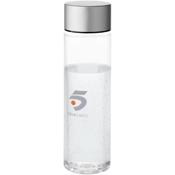Fox 900 ml Tritan™ sport bottle - Transparent clear / Silver