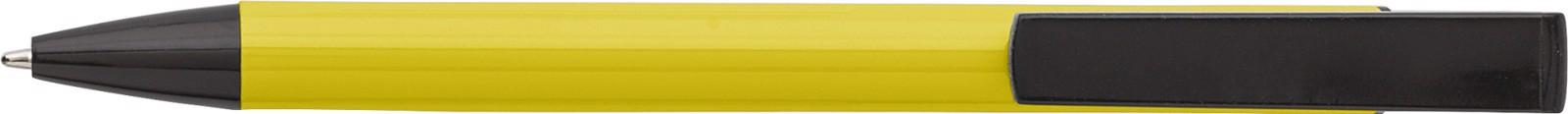Aluminium ballpen - Yellow