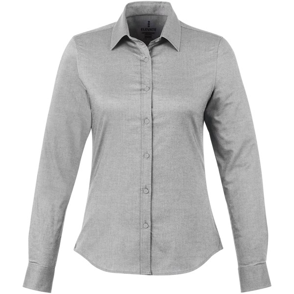 Vaillant long sleeve ladies shirt - Steel grey / XL