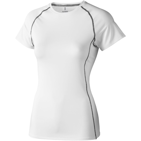 "Camiseta Cool fit de manga corta para mujer ""Kingston"" - Blanco / XXL"