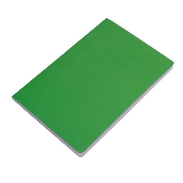 Notatnik 140x210/40k gładki Fundamental - Zielony