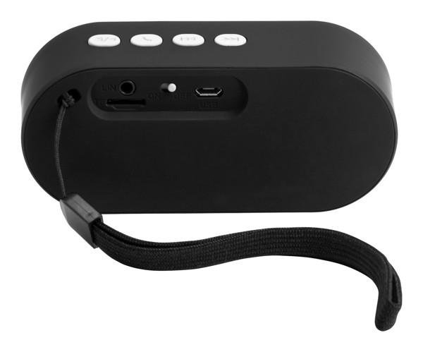 Bluetooth Reproduktor Helber - Bílá / Černá