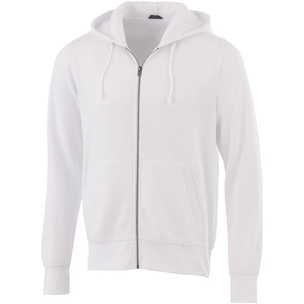 Cypress unisex full zip hoodie - White / XXS