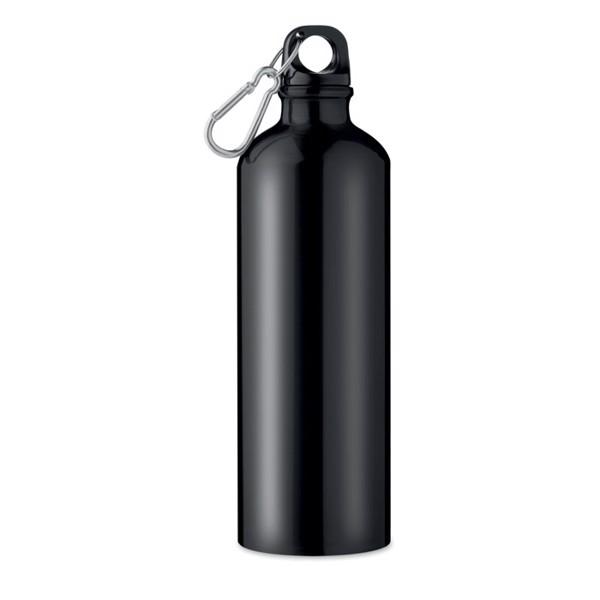 Butelka aluminiowa Big Moss - czarny