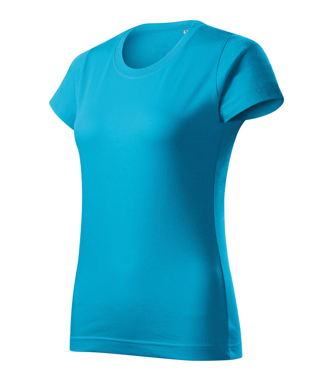 T-shirt women's Malfini Basic Free - Blue Atoll / XL