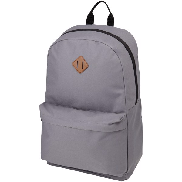 "Stratta 15"" laptop backpack - Grey"