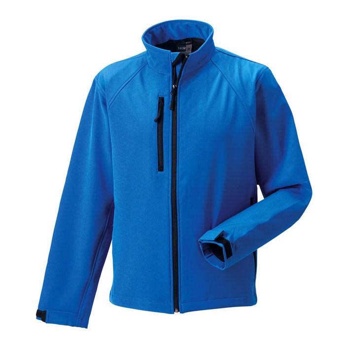 Men's Softshell 340 g/m2 Soft Shell Jacket R-140M-0 - Azure / S