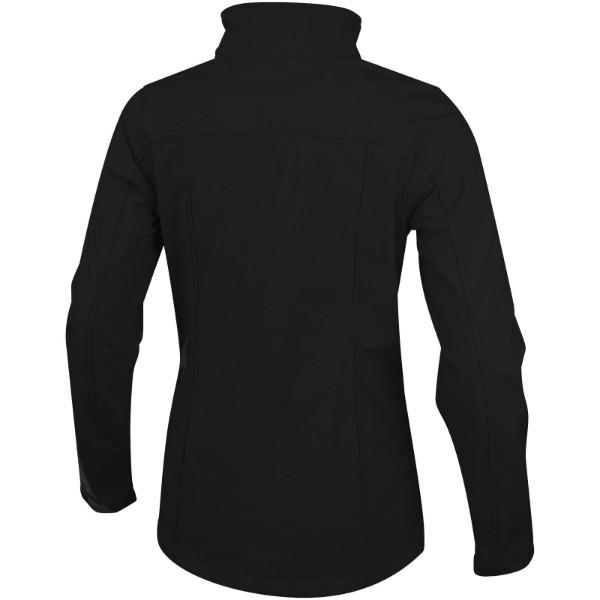 Maxson women's softshell jacket - Solid black / M