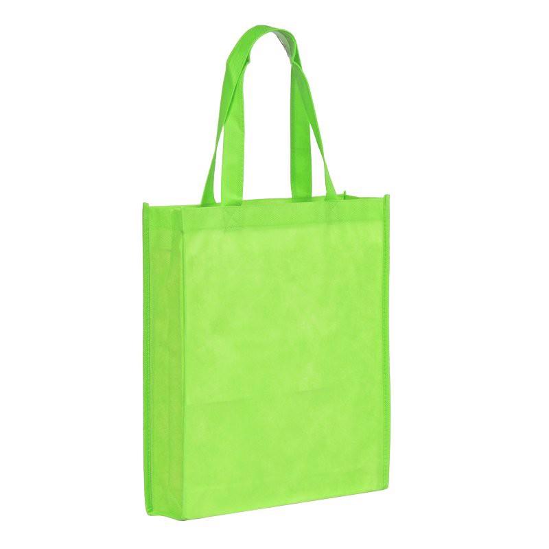 Torba na zakupy Non Woven długie uszy - Zielony