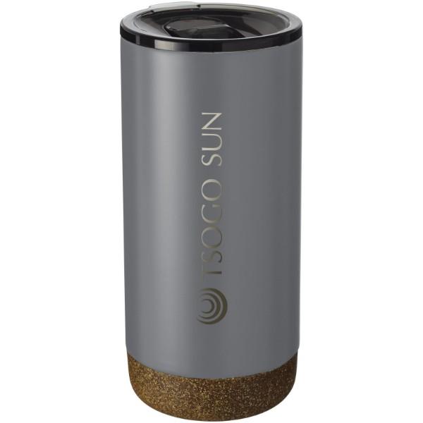 Valhalla 500 ml copper vacuum insulated tumbler - Grey