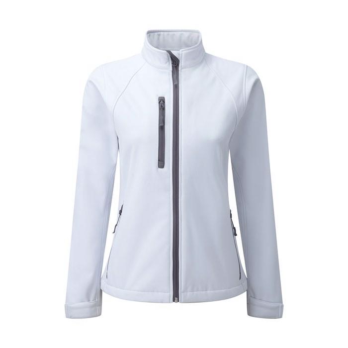Ladies Softshell 340 g/m2 Soft Shell Jacket R-140M-0 - White / M