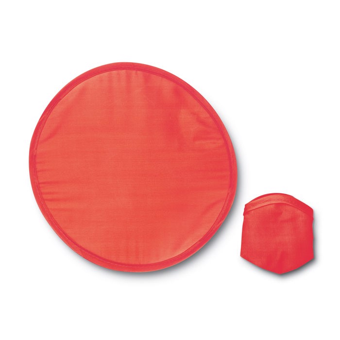 Foldable frisbee in pouch Atrapa - Red