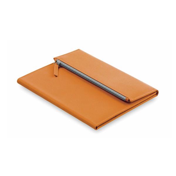 Porte-Documents Patrix - Orange/Bleu