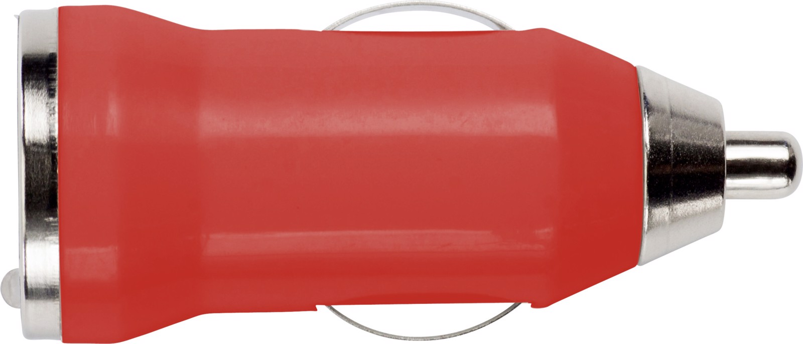 ABS car power adapter - Red