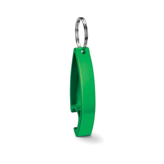 Keyring bottle opener Colour Twices - Lime