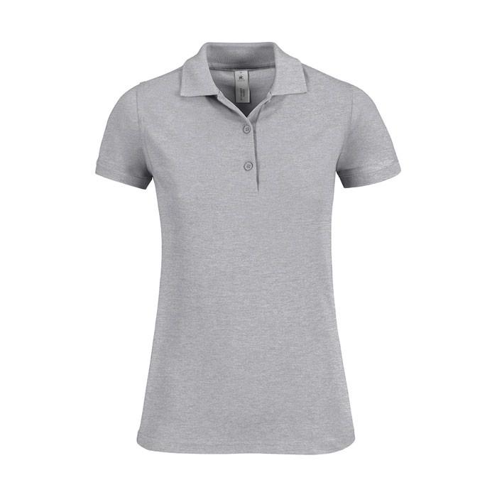 Ladies Polo Shirt 180 g/m2 Safran Timeless Women - Grey Heather / XL