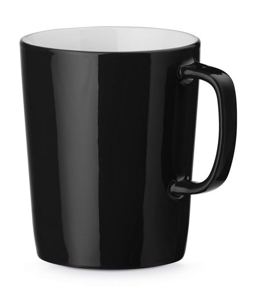 NELS. Ceramic mug 320 ml - Black
