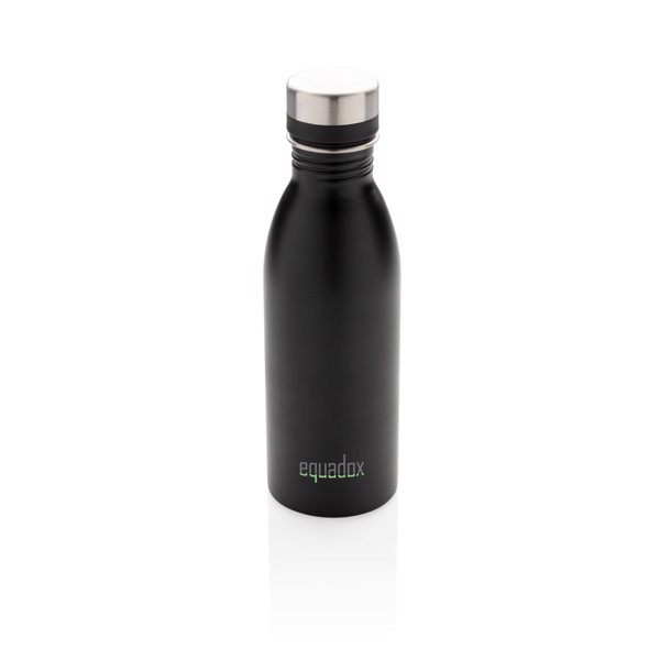 Deluxe vizespalack rozsdamentes acélból - Fekete
